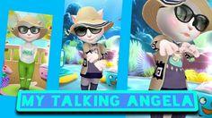 HAHA PONAKAN MAIN GAME MY TALKING ANGELA...WOW !!! | ADULT SIZE