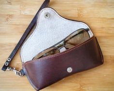 Case for sunglasses for leather -    Edit Listing  - Etsy