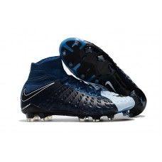 Botas De Futbol Nike Hypervenom Phantom III DF FG Azul Brave Negro Azul  foto ES de3950f27a9d6