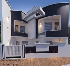 You can fix your home exterior design even if you do not have much money. In this article I am going to talk about the ways to improve your home exterior design. Appealing design will enhance the aesthetic values of… Continue Reading → 2 Storey House Design, Bungalow House Design, House Front Design, Small House Design, Cool House Designs, Modern House Design, Luxury Homes Dream Houses, House Elevation, Facade House