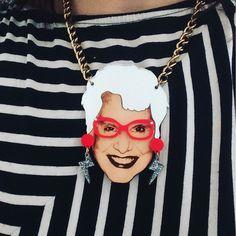 Sue to brighten up a Monday morning. #tattydevine #mytattydevine #suekreitzman by nokarate - Pinned by @FancyAsMilly on instagram -