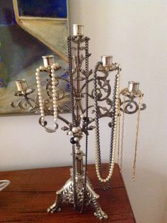 Torso de madera para colgar collares disponible cajas - Para colgar collares ...