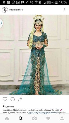 #Indonesian sundanese wedding kebaya #wedding #bride Kebaya Wedding, Wedding Bride, Kebaya Pink, Famous Wedding Dresses, Kebaya Bali, Indonesian Wedding, Dress Sewing Patterns, Wedding Poses, Traditional Outfits