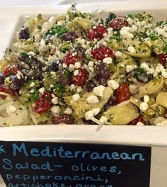 Our pre-made salads are great for the family on the go. REAL! Kitchen & Market and REAL! Bar, High Point, NC. 336.882.2299