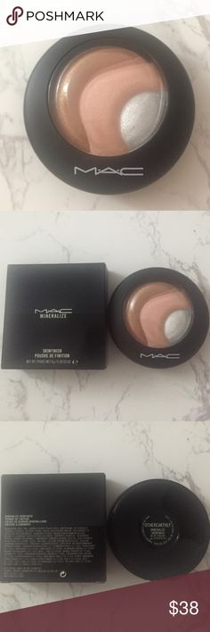 MAC Mineralize Skinfinish Color: Otherearthly  Never Used  Price Is Firm  No Trades Do Not Comment Unless Serious About Buying MAC Cosmetics Makeup Luminizer