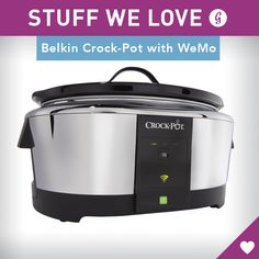 As cool as it sounds, we'll admit we were skeptical about the real value of a remote-controlled Crock Pot. After all, isn't the point of a slow cooker to dump all of the ingredients in the pot and forget about it for a few hours? Not exactly.