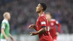 """Bayern Munich goalscorer Serge Gnabry described his """"relief"""" as the team recorded their first win in four Bundesliga matches by beating Werder Bremen at the Weser-Stadion. Serge Gnabry, Get Back, Football, Baseball Cards, Running, Sports, Munich, Cars, Luxury"""