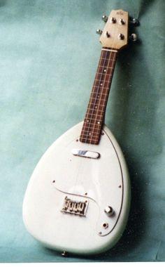 Electric soprano ukulele by Michael J King