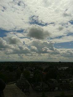 Lucht boven Barneveld