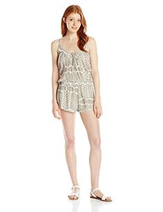 Rip Curl Juniors Solstice Romper Vanilla LG * You can find more details by visiting the image link.