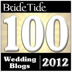 Top 100 wedding blogs of 2012