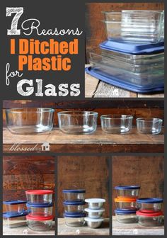 On my list next!!  7 Reasons I Ditched Plastic For Glass