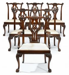 15 best antique chippendale chairs and sofa images chippendale rh pinterest com