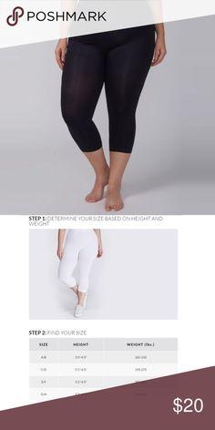 E21 Lane Bryant Level 1 Smoothing Capri Leggings Size C//D 18//20