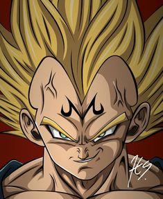 Majin Vegeta, Dragon Ball Z