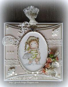 Glenda's creations: Pillow label card
