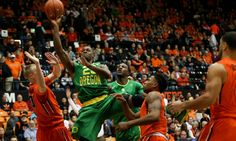 Oregon thriving with gritty, ugly basketball = For a while there it didn't seem like it was destined to happen this year: A normal result in a Pac-12 basketball game.  Seemed crazy, right? Just on Saturday, Arizona was toppled by USC in quadruple overtime, two days after the Wildcats were stunned by struggling UCLA. Washington.....