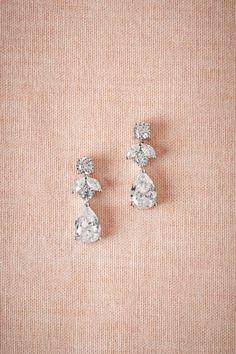 BHLDN  Petite Crystal Drops #DiamondEarrings