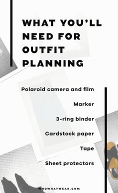 Everything you need to outfit plan like a celeb stylist.