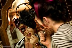 Got My Eye On You   Zombie Pinup Contest by Zombie Pinups, via Flickr