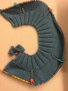 Cookin' & Craftin': Evolution of a Top-Down Knit Cardigan