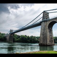 Menai Bridge - My favourite bridge.
