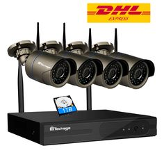 Cheap set camera, Buy Quality set security camera directly from China set kit Suppliers: Techage Wireless NVR Wifi CCTV System Outdoor Waterproof IR Night Vision Security IP Camera Surveillance System Camera Surveillance System, Security Camera System, Security Surveillance, Home Security Systems, Cctv Surveillance, Wireless Security, Wireless Camera, Wireless Router, Kit