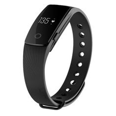 ID107 Bluetooth 4.0 Smart Bracelet Smartband Heart Rate Monitor Fitness Tracker For IOS Android Sale - Banggood.com