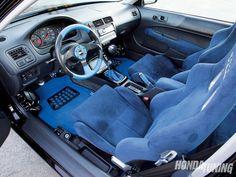 99/00 Honda Civic interior