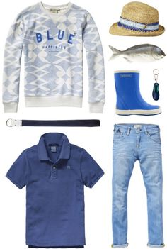 A cool casual outfit for boys   Scotch Shrunk and Bergstein   www.eb-vloed.nl