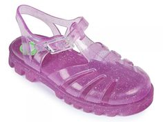 Glitter Pink Jelly Shoes