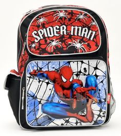 635a398ef0 Free S amp H Clearance Marvel Spiderman Large Backpack (81099) and One  Bonus Gift