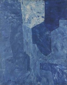 Serge Poliakoff (French, born Russia, 1900-1969), Composition abstraite, 1959. Oil on panel, 92 x 73 cm.