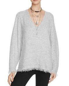 Free People Irresistible V-Neck Sweater | Bloomingdale's
