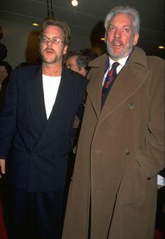 Pin for Later: Découvrez les stars et leurs pères célèbres pour la fête des pères ! Donald et Kiefer Sutherland