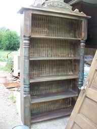 great use porch posts....  2 repins  greenoakantiques.com