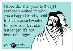 Belated Birthday Meme 誕生日 Pinterest Happy Belated Birthday