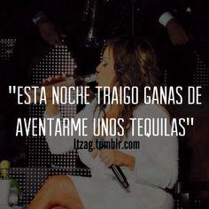 Unos tequilas