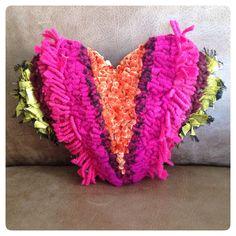 Beautiful cushion by Debbie Siniska.