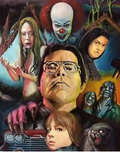 Horror movie art : the films of stephen king stuff. Best Horror Movies, Scary Movies, Arte Horror, Horror Art, Films Stephen King, Carrie, Kings Movie, Steven King, Pet Sematary
