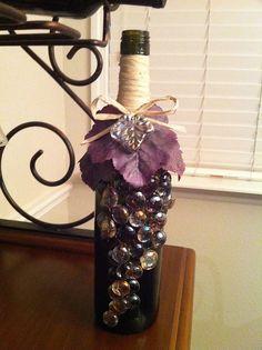 Wine bottle craft | Flickr - Photo Sharing!