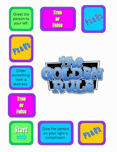 The Catholic Toolbox: The Golden Rule File Folder Game