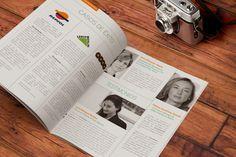 Folleto Corporativo Socialnautas. La empresa Socialnautas Experta en lo ámbitos del Social Media, Gestión y creación de comunidades virtuales, me propuso la creación de un folleto creativo para poder enseñar a sus clientes en papel lo que ellos son expertos a nivel online, tras unas cuantas charlas, cambios y horas de trabajo, terminamos muy contentos con el trabajo que nos quedó, espero que a vosotros también os guste. PÁG. 3 y 4