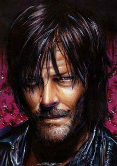 The Walking Dead Artwork. Daryl. ORIGINAL ART JIM KYLE