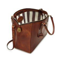 w e a r ❤ liked on Polyvore featuring bags, handbags, striped, stripe bag, kate spade, brown bag, kate spade weekender и kate spade bags