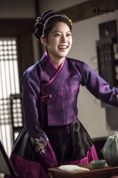 [Photos] 160122 Six Flying Dragons Official Photo Sketch Korean Traditional Clothes, Traditional Fashion, Traditional Dresses, Dynasty Clothing, Korean Accessories, Oriental Dress, Korean Hanbok, Cool Outfits, Fashion Outfits