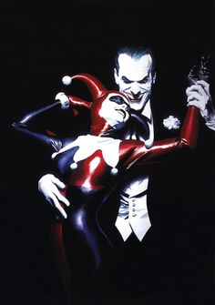 my goal is to one day be able to afford just once piece of alex ross art! Love this pic!