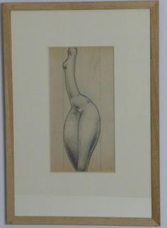 "Etienne Beothy, ""Nude"" 
