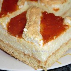 RHmmmm -ákóczi túrós recept I. Hungarian Cake, Hungarian Recipes, Hungarian Food, Breakfast Recipes, Dessert Recipes, Salty Snacks, Winter Food, Diy Food, Food Inspiration