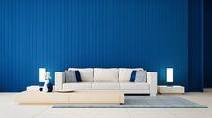 Selon le Pantone Color Institute qui, chaque année, désigne la couleur phare de l'année, le Classic Blue PANTONE 19-4052 est la couleur de 2020. Couleur de l'année 2020, classic blue pantone, salon. Pantone, Ikea, Couch, Interior, Design, Blue, Furniture, Home Decor, Style